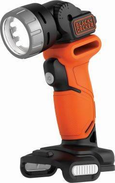Аккумуляторный фонарь Black & Decker BDCCF12N-XJ оранжевый