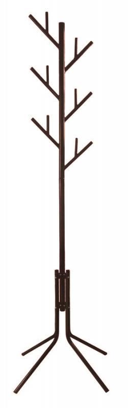 Вешалка напольная Бюрократ CR-003 коричневый (CR-003/BROWN) - фото 1