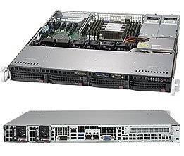 Корпус SuperMicro CSE-813MFTQC-R407CB 2 x 400 Вт черный (CSE-813MFTQC-R407CB)
