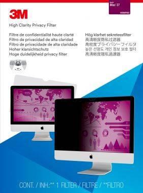 """Пленка защиты информации для ноутбука 27"""" 3M PFMAP002 черный (7000059592)"""