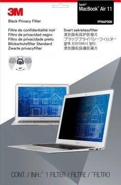 """Пленка защиты информации для ноутбука 11.6"""" 3M PFNAP006 черный (7100011159)"""
