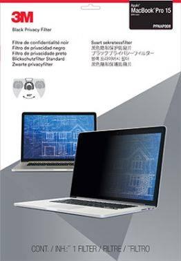 """Пленка защиты информации для ноутбука 15.4"""" 3M PFNAP008 черный (7100115703)"""