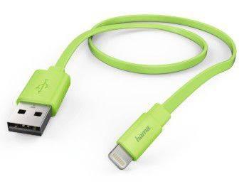 Кабель Hama Flat Lightning (m)-USB A(m) 1.2м (00173647)