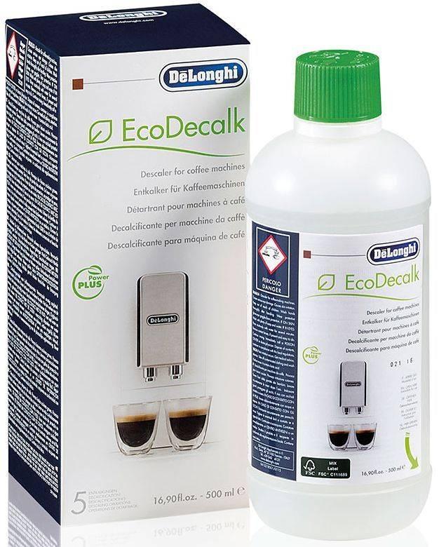 Очиститель от накипи для кофемашин Delonghi DLSC500 500мл (5513296051) - фото 1