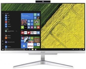 """Моноблок 21.5"""" Acer Aspire C22-865 серебристый (DQ.BBRER.004)"""