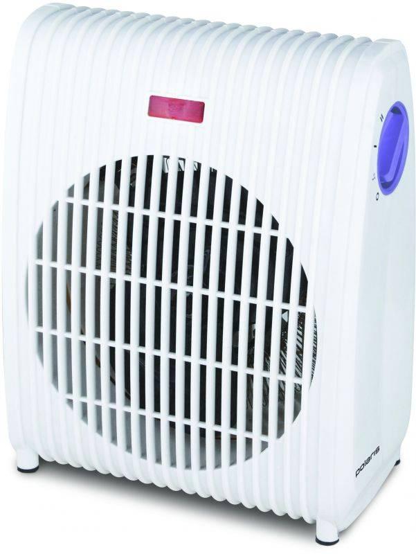 Тепловентилятор Polaris PFH 2061 белый/фиолетовый - фото 1