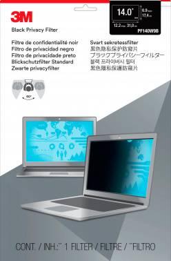 """Пленка защиты информации для ноутбука 14"""" 3M PF140W9B черный (7000014517)"""