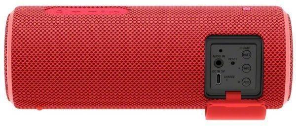 Колонка портативная Sony SRS-XB21 красный (SRSXB21R.RU2) - фото 4
