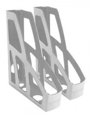 Набор лотков вертикальный Стамм ЛТ127 Лидер серый