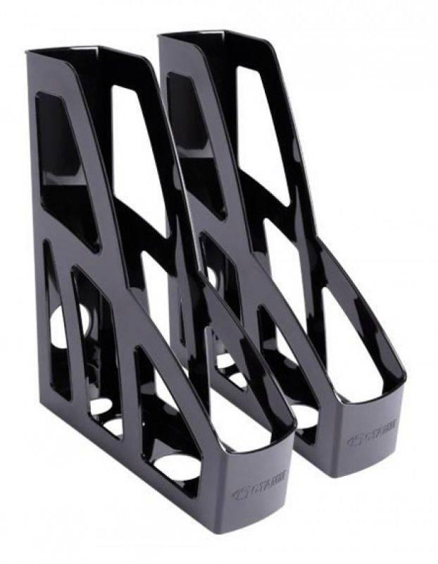 Набор лотков вертикальный Стамм ЛТ128 Лидер черный - фото 1
