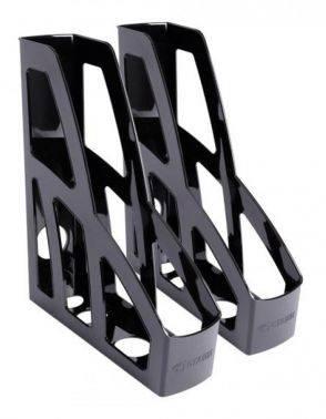 Набор лотков вертикальный Стамм ЛТ128 Лидер черный