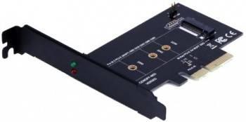 Адаптер PCI-E M.2 NGFF for SSD, Bulk (ASIA PCIE M2 NGFF M-KEY)