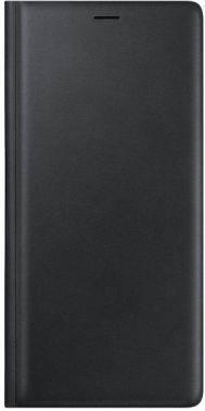 Чехол Samsung Leather Wallet Cover, для Samsung Galaxy Note 9, черный (EF-WN960LBEGRU)