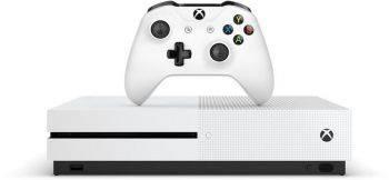 Игровая консоль Microsoft Xbox One S 234-00311 белый (234-00311-PUXGP)
