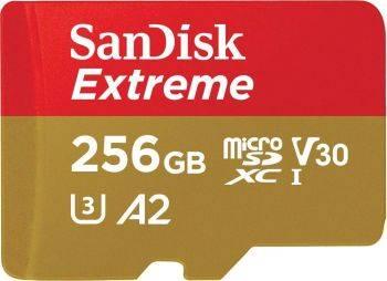 Карта памяти microSDXC 256Gb Class10 Sandisk Extreme (SDSQXA1-256G-GN6MA)