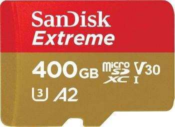 Карта памяти microSDXC 400Gb Class10 Sandisk Extreme (SDSQXA1-400G-GN6MA)