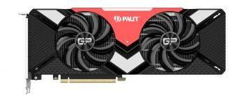 Видеокарта Palit PA-RTX2080 Gaming Pro OC 8G 8192 МБ (NE62080S20P2-180A)