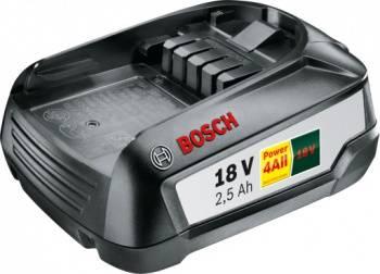 Батарея аккумуляторная Bosch PBA W-B 18В 2.5Ач Li-Ion (1600A005B0)