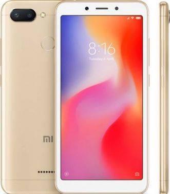 Смартфон Xiaomi Redmi 6 32ГБ золотистый