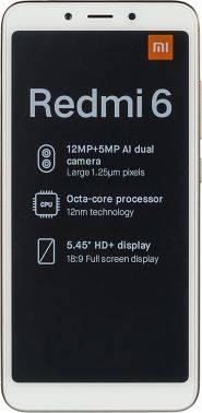 Смартфон Xiaomi Redmi 6 64ГБ золотистый (19629)