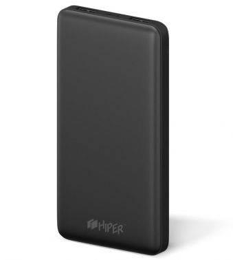 Мобильный аккумулятор HIPER ST10000 черный (ST10000 BLACK)