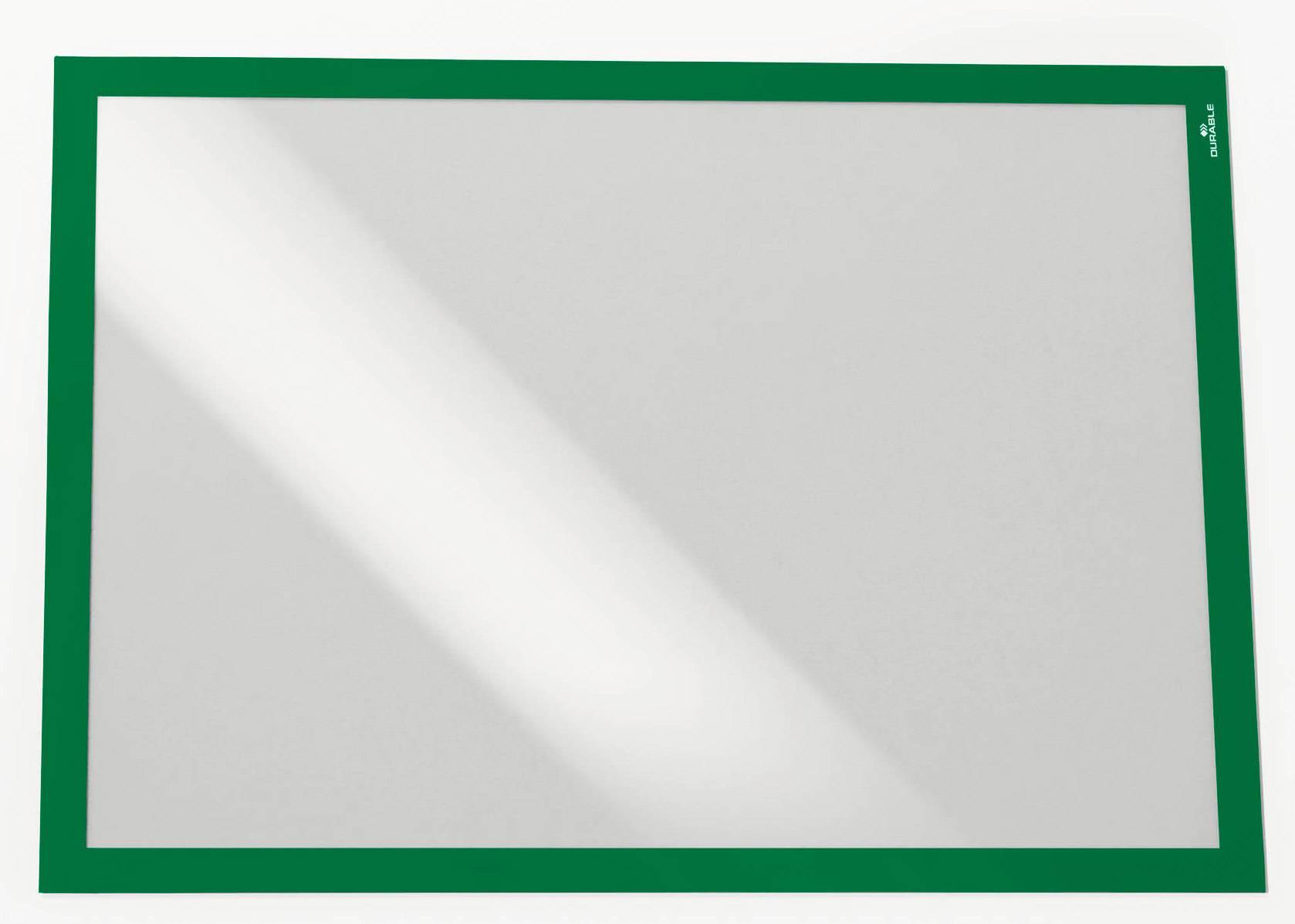 Магнитная рамка Durable Duraframe A3 зеленый (4883-05) - фото 1