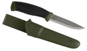 Нож стальной Mora Companion MG (C) темно-зеленый (11863)