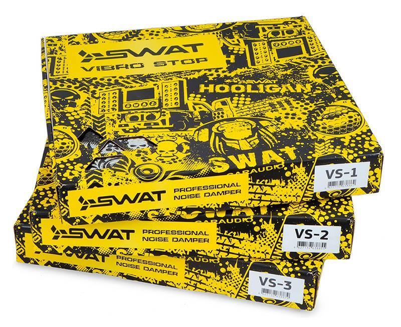 Шумоизоляция Swat VS-2 (компл.:20шт) 373x350x2.6мм - фото 4