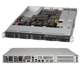 Корпус SuperMicro CSE-113AC2-R706WB2 2 x 750 Вт черный (CSE-113AC2-R706WB2)