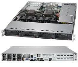 Корпус SuperMicro CSE-815TQC-R706WB2 2 x 750 Вт черный (CSE-815TQC-R706WB2)