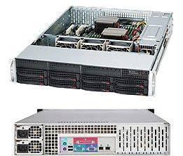 Корпус SuperMicro CSE-825TQC-R1K03LPB 2 x 1000 Вт черный (CSE-825TQC-R1K03LPB)