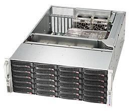 Корпус SuperMicro CSE-846BA-R920B 2 x 920 Вт черный (CSE-846BA-R920B)