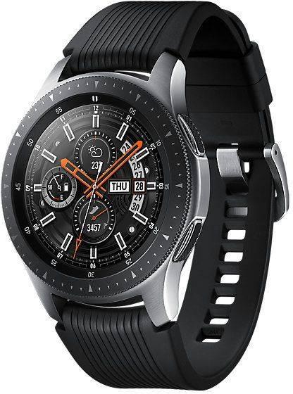 Смарт-часы SAMSUNG Galaxy Watch серебристый (SM-R800NZSASER) - фото 1