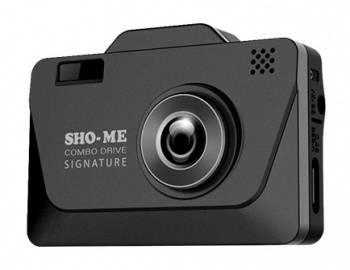 Видеорегистратор с антирадаром Sho-Me Combo Drive Signature черный