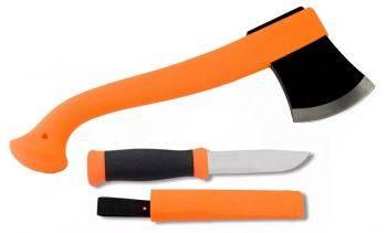 Набор нож/топор Mora Outdoor Kit оранжевый (12096)