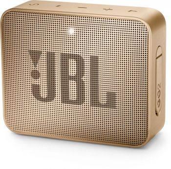 Колонка портативная JBL GO 2 золотистый (JBLGO2CHAMPAGNE)