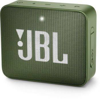 Колонка портативная JBL GO 2 зеленый (JBLGO2GRN)
