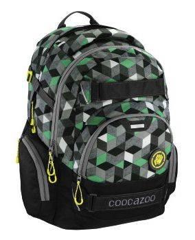Рюкзак Coocazoo CarryLarry2 Crazy Cubes черный/зеленый (00138744)