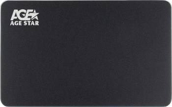 Внешний корпус для HDD/SSD AgeStar 3UB2AX1C SATA I/II/III черный (3UB2AX1C (BLACK))