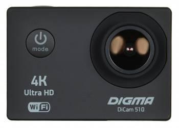 Экшн-камера Digma DiCam 510 черный (DC510)