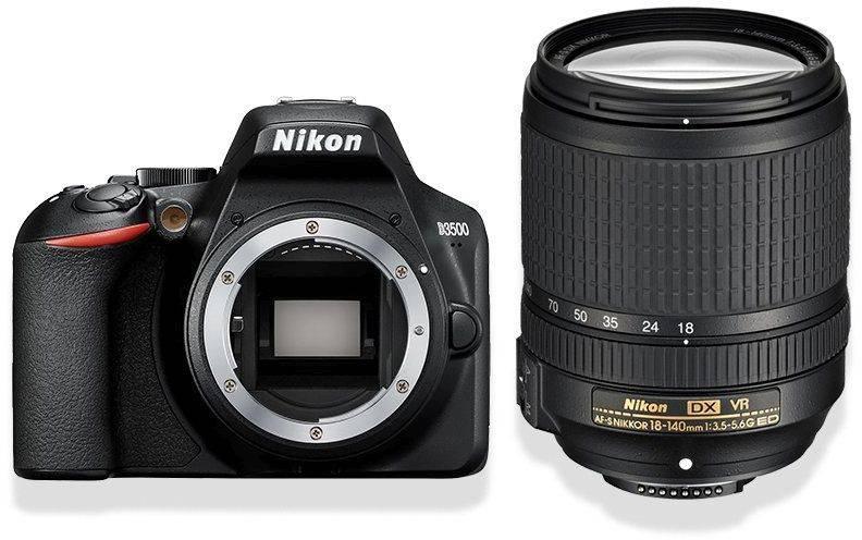 Фотоаппарат Nikon D3500 черный, 1 объектив (VBA550K004) - фото 1