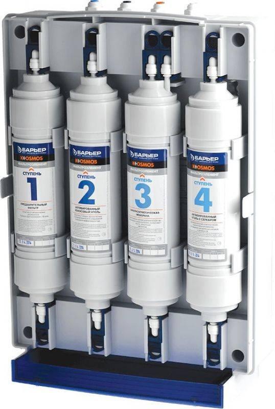 Водоочиститель Барьер К-ОСМОС + кран 27 (Н321Р00) - фото 2