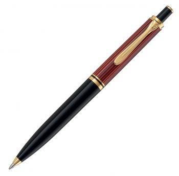 Ручка шариковая Pelikan Souveraen K 400 черный/красный (PL904995)