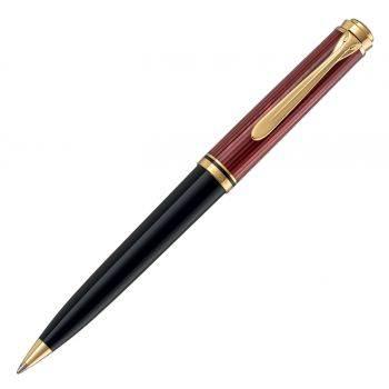 Ручка шариковая Pelikan Souveraen K 600 черный/красный (PL928713)