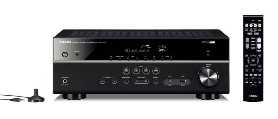 Ресивер AV Yamaha HTR-3072 5.1 черный (AHTR3072BLF) - фото 1