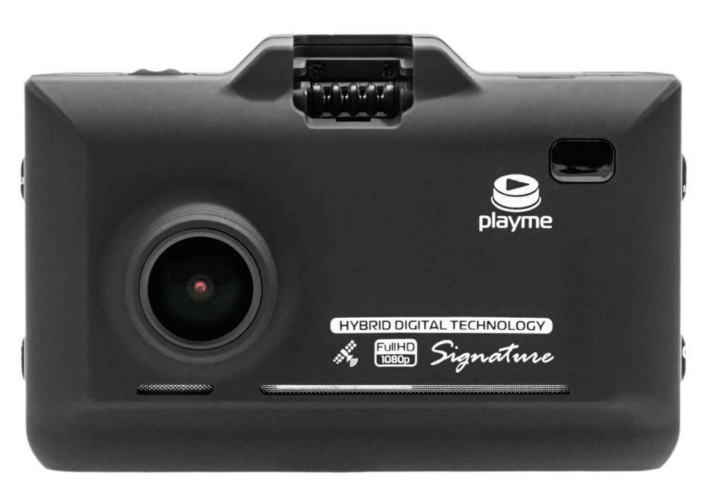 Видеорегистратор с антирадаром Playme P570SG - фото 1