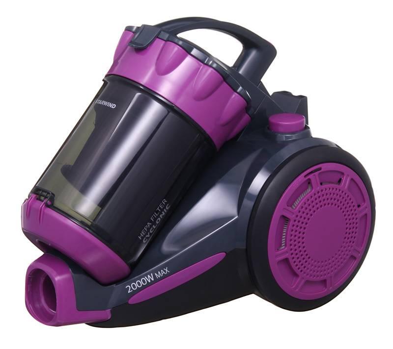 Пылесос Starwind SCV2030 фиолетовый/черный - фото 1