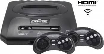 Игровая консоль Sega Mega Drive Retro Genesis HD Ultra 2 черный (CONSKDN71)