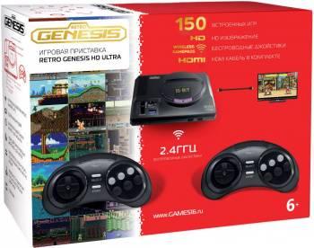 Игровая консоль Sega Retro Genesis HD Ultra черный (CONSKDN70)