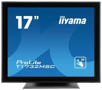 """Монитор 17"""" Iiyama T1732MSC-B5X черный"""